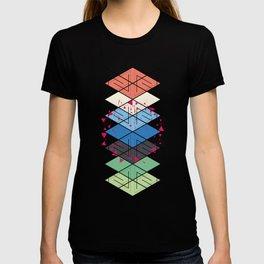 Fractal pattern T-shirt
