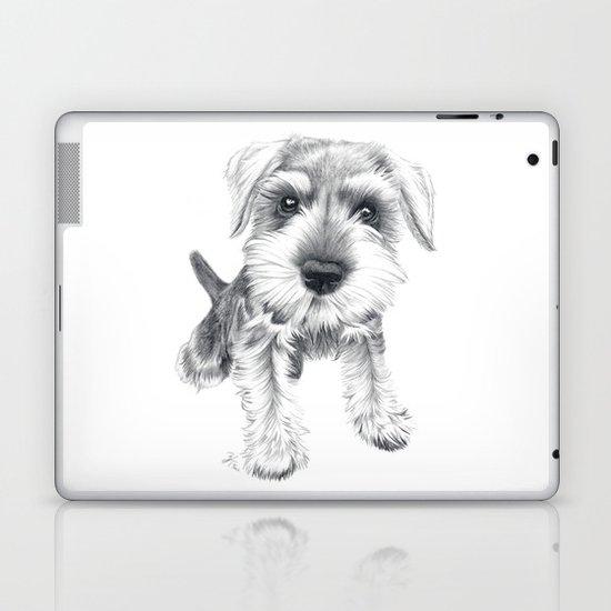 Schnozz the Schnauzer Laptop & iPad Skin