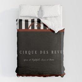 Night Circus Invitation Duvet Cover