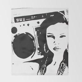 Me & My Radio Throw Blanket