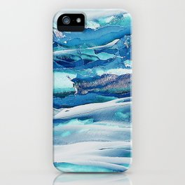 Ice Field iPhone Case
