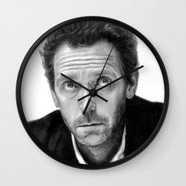 Hugh Laurie Wall Clock