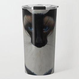 The Siamese Cat Travel Mug