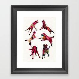 perros Framed Art Print