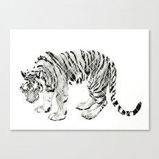Paper Tiger Canvas Print