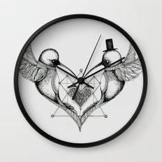 'Humming Birds' Wall Clock