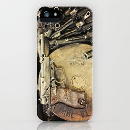 An art of Peacemaking iPhone Case