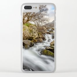 Trfan Mountain Rapids Clear iPhone Case