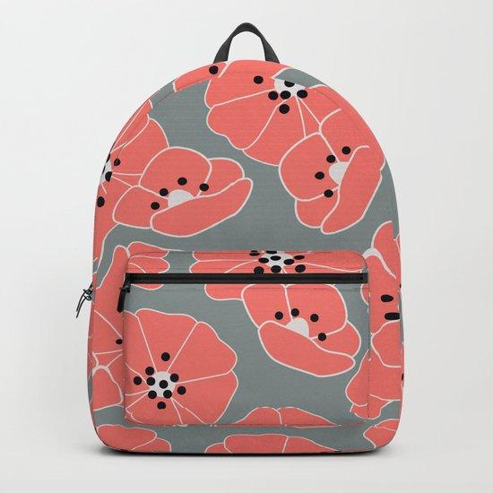 Retro bloom 002 Backpack