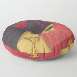 Surfer Rosa (Luxemburg) Floor Pillow