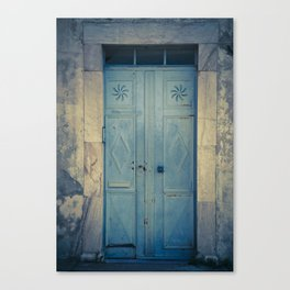 Blue Door II Canvas Print