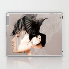 Morrigan, Celtic goddess Laptop & iPad Skin