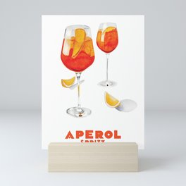 Aperol Spritz Mini Art Print