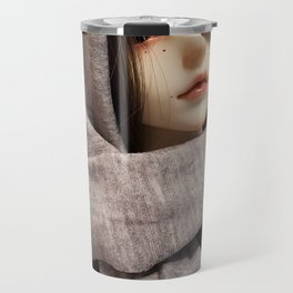 Kallias doll - Winter Shawl Travel Mug