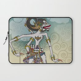Modification of the puppet characters Hanuman white monkey in the story of the Ramayana Laptop Sleeve