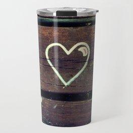 Peace Love and Insulin  Travel Mug