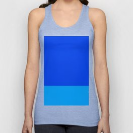 Re-Created Playing Field XLIX by Robert S. Lee Unisex Tank Top
