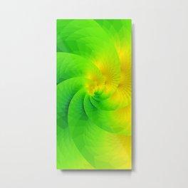 Color gradient Metal Print