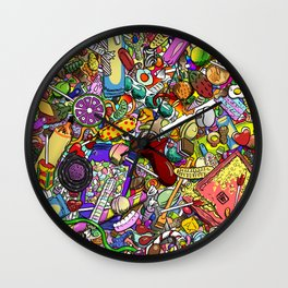 Sweet Tooth Wall Clock