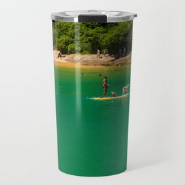Beach in Buzios, Rio de Janeiro (Brasil) Travel Mug