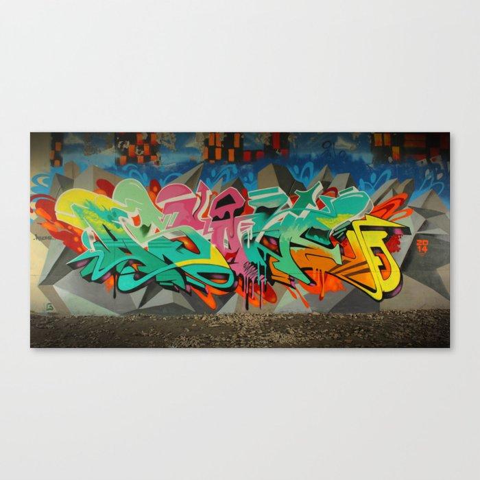 AS ONE GRAF PIECE 2 Canvas Print