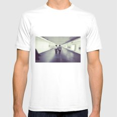 Long Walk Home MEDIUM White Mens Fitted Tee