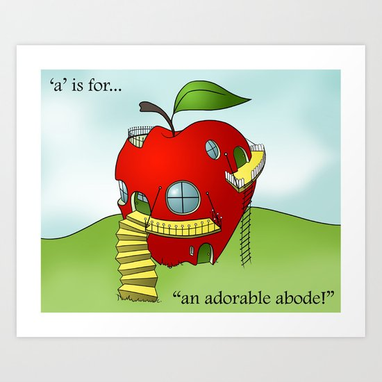 A is for... Art Print