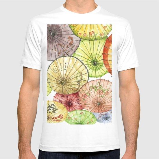 Paper Umbrellas T-shirt