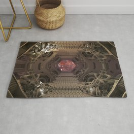 Space Checkpoints TA KentPress Rug