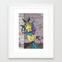 comic Framed Art Prints featuring Comic by GL Przewoznik