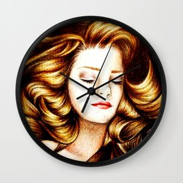 Sleeping Beauty Wall Clock