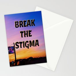 Break The Stigma  Stationery Cards