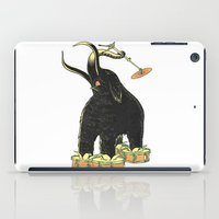 drums iPad Cases featuring Mammoth Drums! by splendidhand