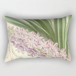 Saccolabium ampullaceum Rectangular Pillow