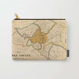 Map Of Athens Georgia 1893 Carry-All Pouch