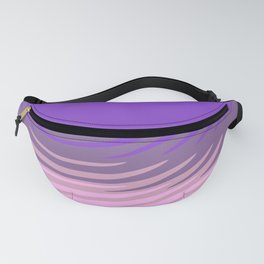 Manan pink purple Fanny Pack