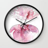 marc Wall Clocks featuring Oh Lola - Marc Jacobs by Stephany Moreno