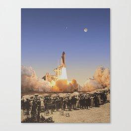 Launch Party Canvas Print