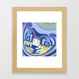 Cyclop's Grin Framed Art Print