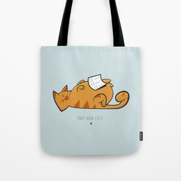 Tout doux liste — Willy Tote Bag