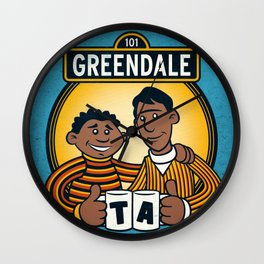Greendale Street Wall Clock