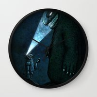 monster Wall Clocks featuring Monster by MaComiX