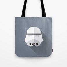 Stormtrooper Minimalist Poster Tote Bag