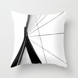 Normandy Bridge Throw Pillow