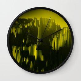 Castle sunset Wall Clock