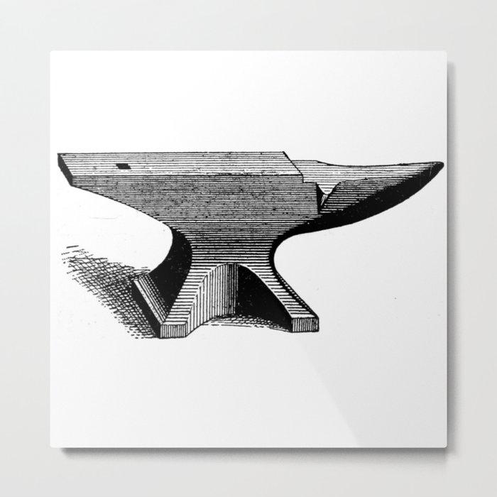 Anvil Metal Print