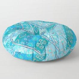 Ethnic Tribal Pattern Art N7 Floor Pillow