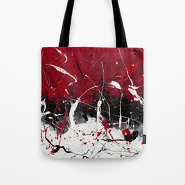 Groove In The Fire Tote Bag