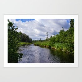 Boundary Waters Entry Point Art Print
