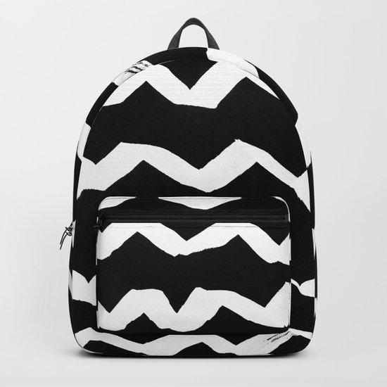 Ink Chevron(invert) Backpack